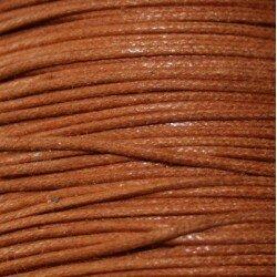 Coton ciré 0,5 mm noir x 5 m