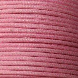 Coton ciré 1,5 mm noir x 5 m