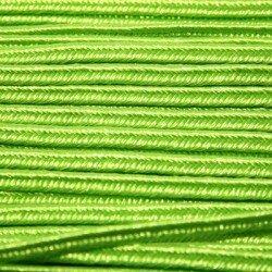 Soutache 2,5 mm gris/vert x 2 m