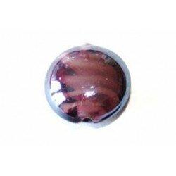Bombée 16 mm violette x 2