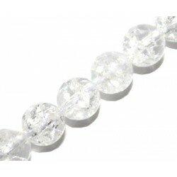 Cristal craquelé rond 8 mm x 10