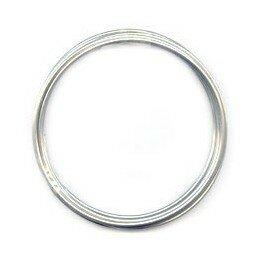 Fil aluminium 1,5 mm argenté x 5 m