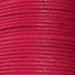 Fil coton ciré 1,5 mm rouge x 5 m
