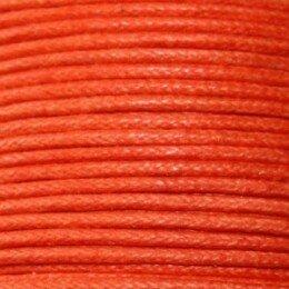 Fil coton ciré 1,5 mm framboise x 5 m