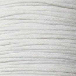 Fil coton ciré 1,5 mm marron x 5 m