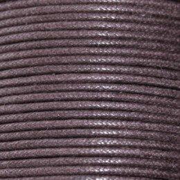 Coton ciré 1 mm orange x 5 m