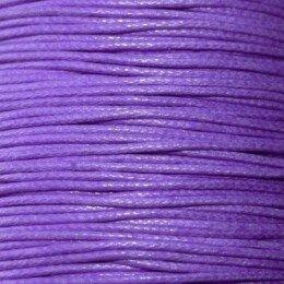 Fil coton ciré 1,5 mm violet x 5 m