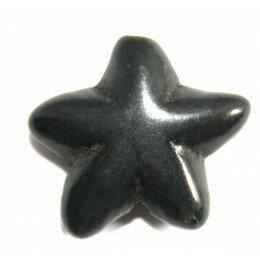 Perle fleur en howlite turquoise 18 mm x 1