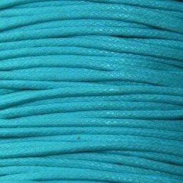 Coton ciré 0,5 mm bleu x 5 m