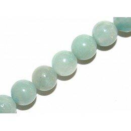 Perle ronde en Amazonite 4 mm x 10