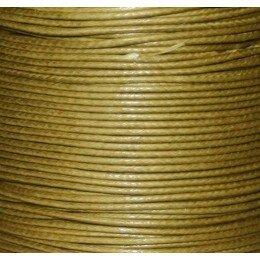 Fil coton ciré 0,7 mm vert x 5 m