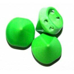 Spike vert fluo 10x9 mm x 1