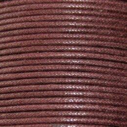 Coton ciré 2,5 mm marron x 2 m