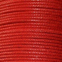 Coton ciré 0.9 mm rouge x 5 m