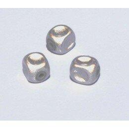 Perles magiques 8 mm mauve x 15