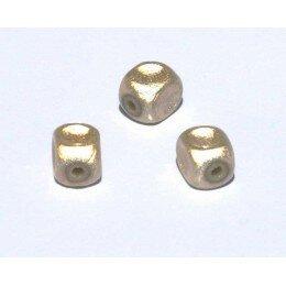 Perles magiques 8 mm beige x 15