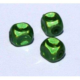 Perles magiques 8 mm vert x 15