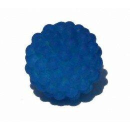Perle shamballa rose bleue 11 mm x 5