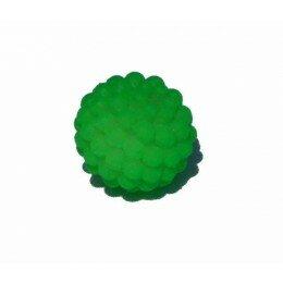 Perle shamballa vert fluo11 mm x 5