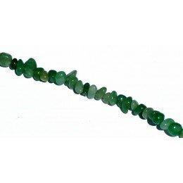 Perle Aventurine chips 5-10 mm x 88 cm