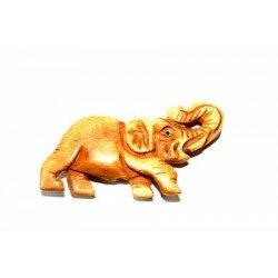 Eléphant en os 42x23x7,5 mmx x1