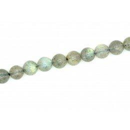 Perle Labradorite ronde 6 mm x 10