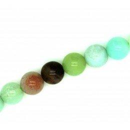 Perle ronde en Amazonite 6 mm x 6