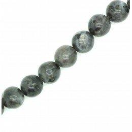 Perle Labradorite ronde norvégienne 6 mm x 10