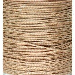 Fil nylon ciré 0.8 mm beige x 3 m
