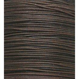 Fil nylon ciré 0.8 mm marron foncé x 3 m