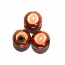 Perle magique 20 mm marron x 1