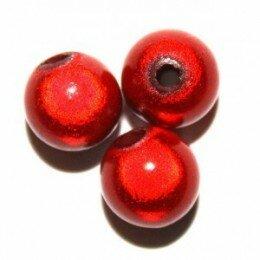 Perle magique 20 mm rouge x 1