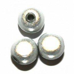 Perle magique 20 mm blanche x 1