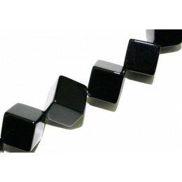 Onyx noir octogone 7x7 mm x 1