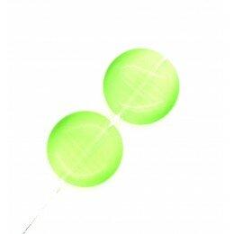 Perle bombée Oeil de chat 14 mm vert clair x 2