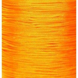 Fil nylon tressé 1 mm orange x 3 m