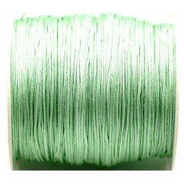 Fil nylon tressé 0.8 mm vert clair x 3 m