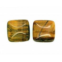 Œil de tigre carré plat 20x7 mm x 1
